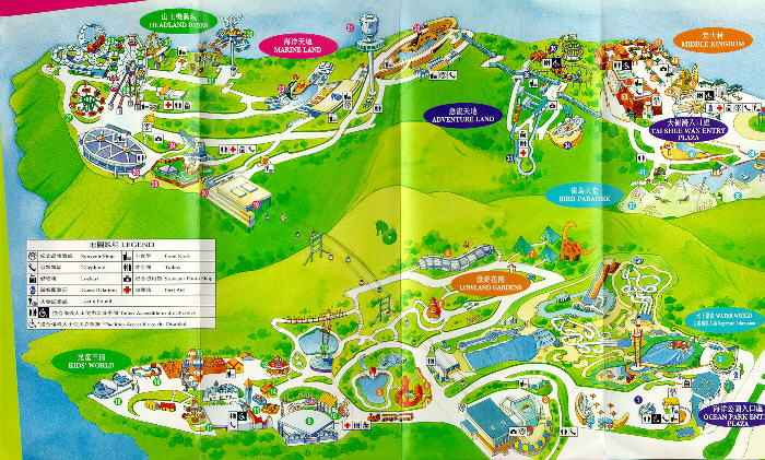 Xiang gang map of ocean park 56kb gumiabroncs Image collections